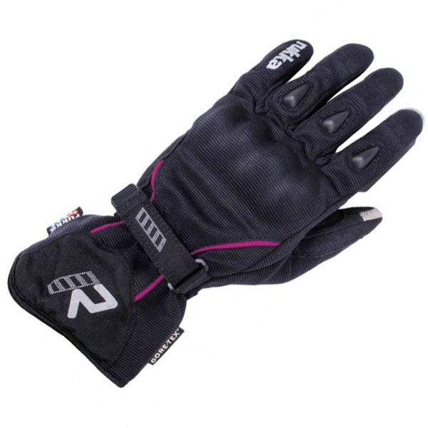 Rukka Suki Gore-Tex Ladies Gloves - Black/Pink