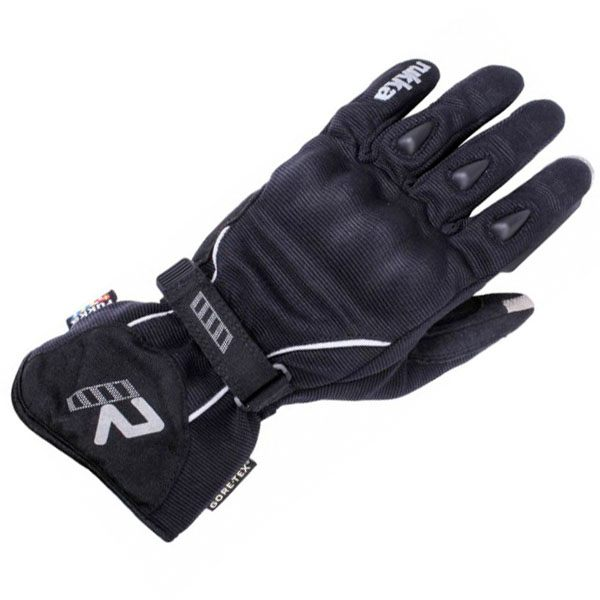 Rukka Suki Gore-Tex Ladies Gloves - Black/Silver