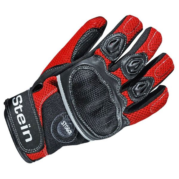 Stein STG601 Gloves Mens - Black/Red