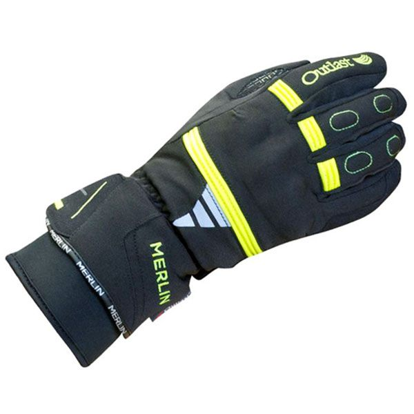 Merlin Tess Outlast Waterproof Gloves Ladies - Black/Fluo