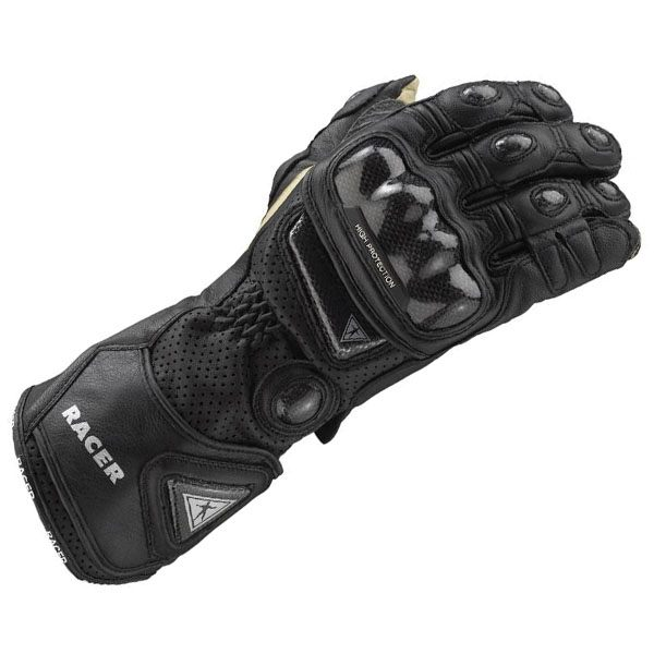 Racer High Racer Gloves - Black