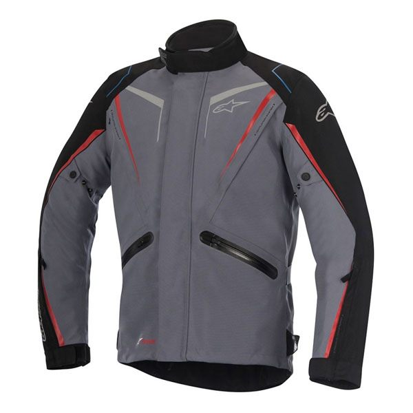 Alpinestars Yokohama Drystar Jacket - Grey/Black/Red