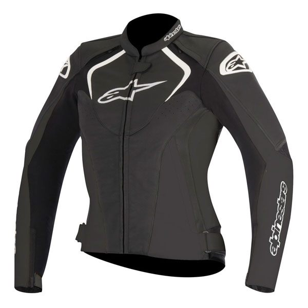 Alpinestars Jaws Ladies Leather Jacket - Black
