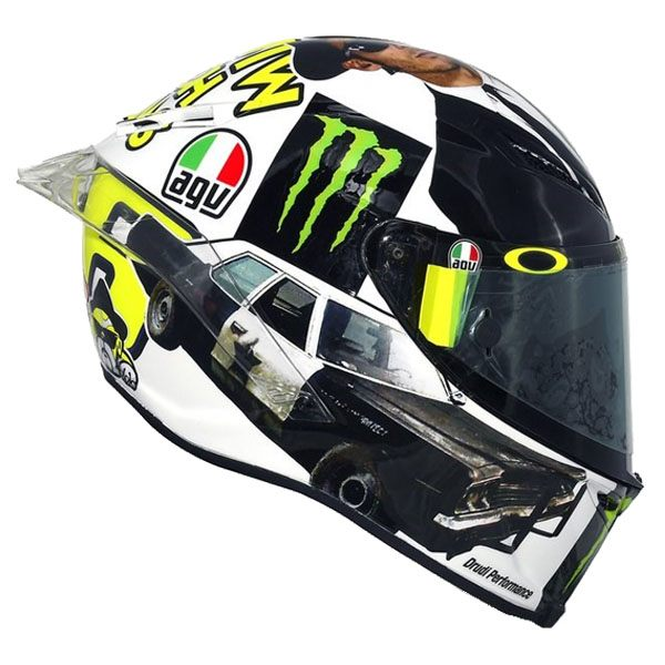 AGV Pista GP-R - Rossi Sweet Home Misano