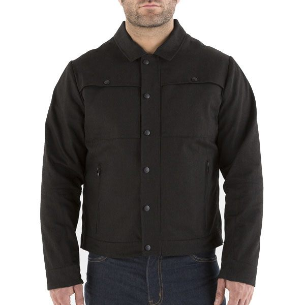 Knox Haydon Denim Jacket - Black