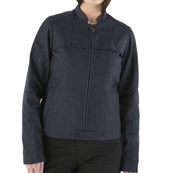 Knox Hartley Denim Ladies Jacket - Blue
