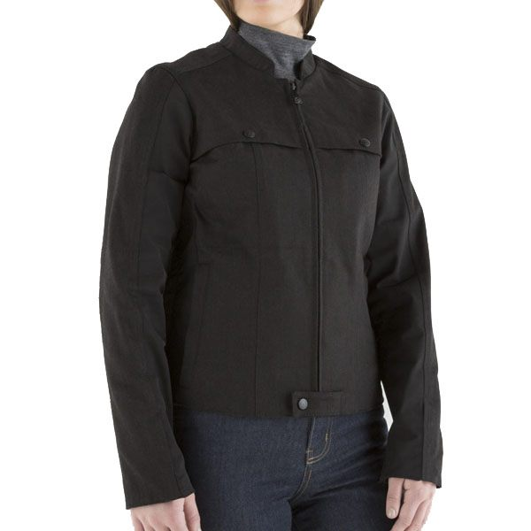 Knox Hartley Denim Ladies Jacket - Black