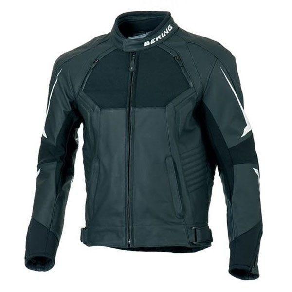 Bering Lynx Leather Jacket - Black