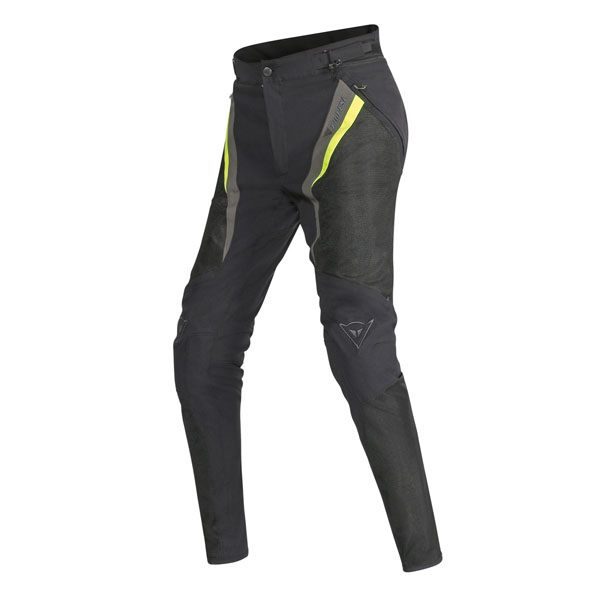 Dainese Drake Super Air Ladies Trousers - Black/Fluo Yellow/Grey