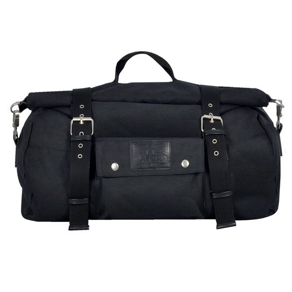 Oxford Heritage 30 Ltr Roll Bag - Black