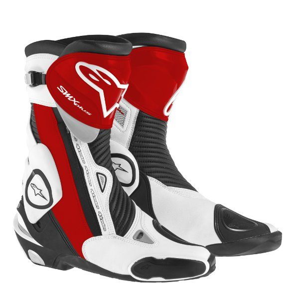 Alpinestars SMX-Plus Boots -Black/White/Red