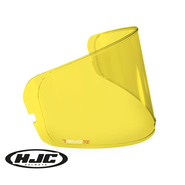 HJC (HJ-20) Pinlock - Yellow