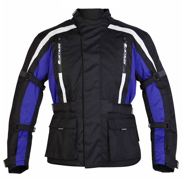 Spada Core Jacket - Black/Blue