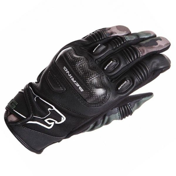 Bering Derreck Gloves - Black/Camo