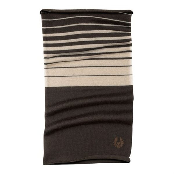Belstaff Mountain Mile Neckwarmer - Mahogany/Oyster