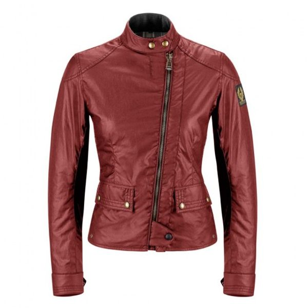 Belstaff Bradshaw Blouson Jacket Ladies - Racing Red