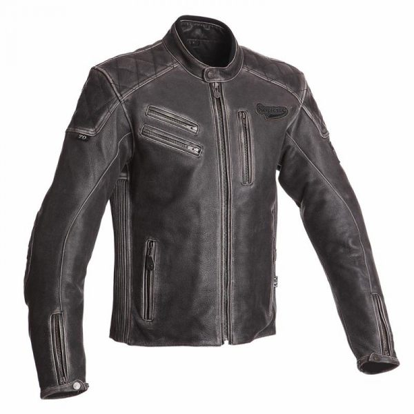 Segura Hank Leather Jacket - Black