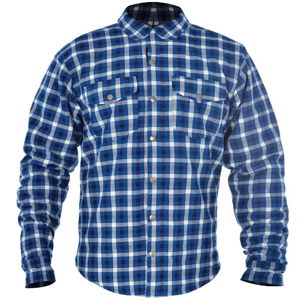 Oxford Kickback Checker Shirt - Blue/White