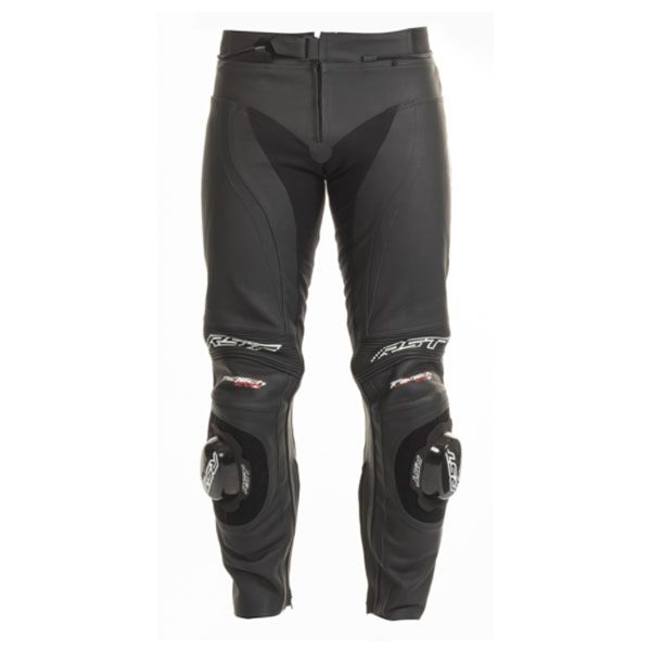 RST Tractech Evo 2 Short Leg Leather Jeans - Black