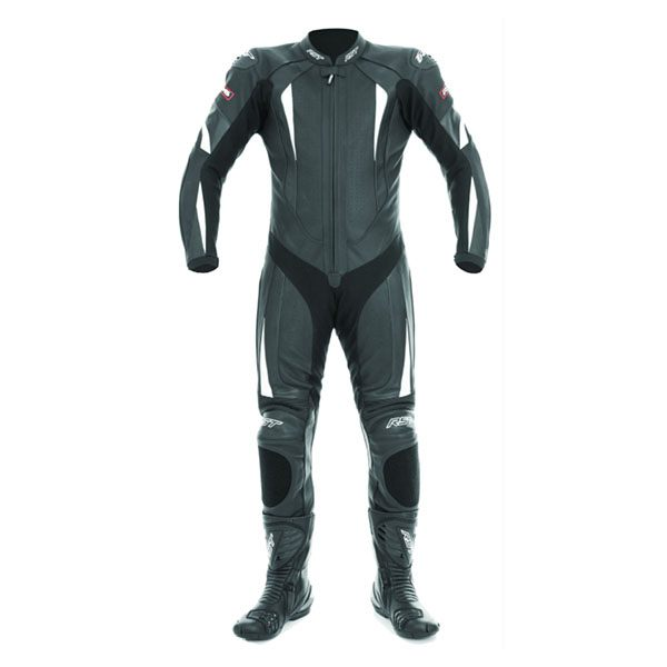 RST - R-16 Leather Suit (Black/White)