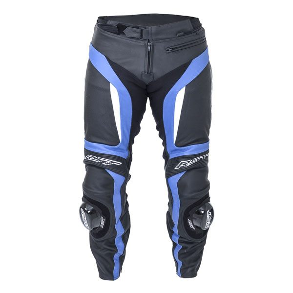 RST Blade 2 Leather Jeans - Blue