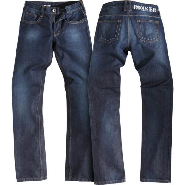 Rokker Revolution Ladies Jeans - Blue