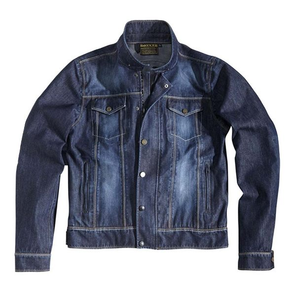 Rokker Revolution Denim Jacket - Blue