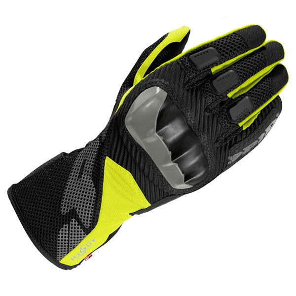 Spidi Rainshield Waterproof Gloves - Black/Fluo Yellow