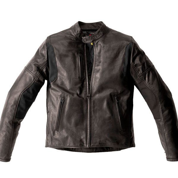 Spidi Thunderbird Leather Jacket - Brown