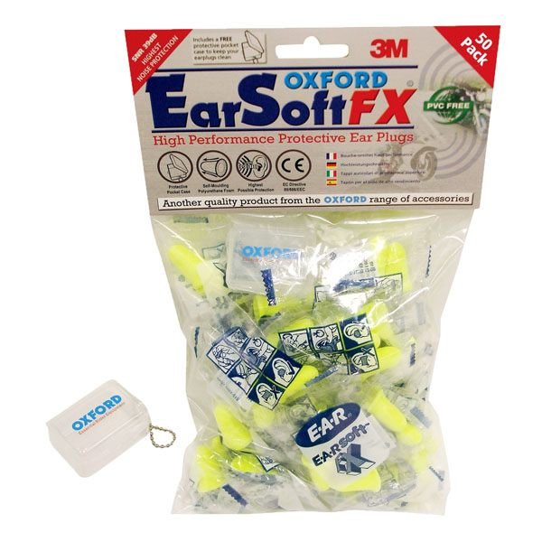 Oxford EarSoft 50 Packet Earplugs