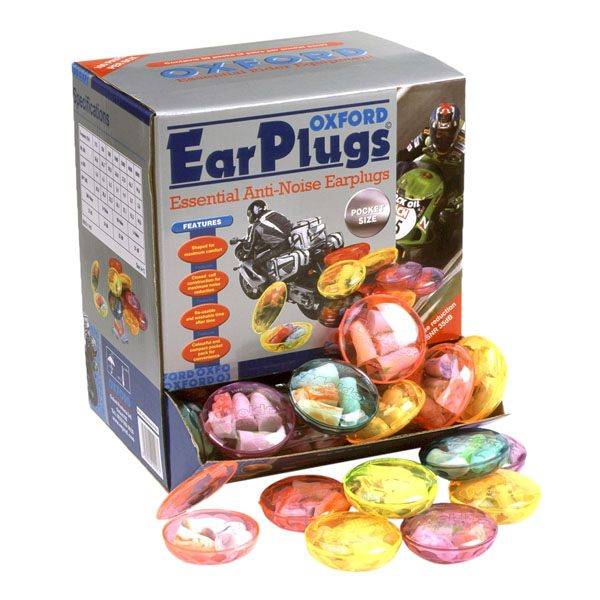 Oxford Twin Pack Earplugs In Plastic Case