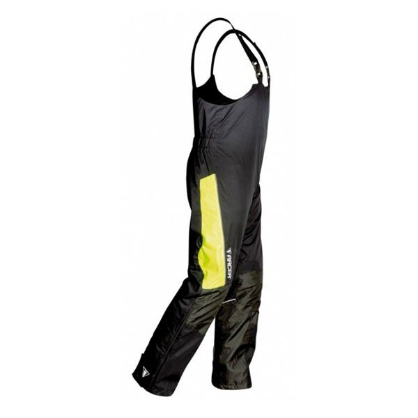 Racer Flex Bib Trousers - Black/Fluo
