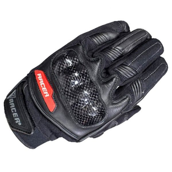 Racer Soul Gloves - Black