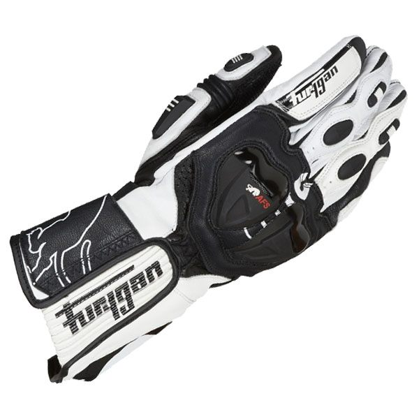 Furygan AFS 19 Glove - Black/White