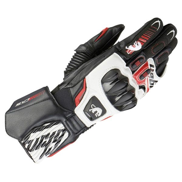 Furygan Fit-R2 Glove - Black/White/Red