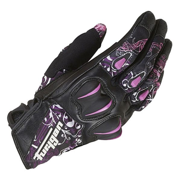 Furygan Graphic Lady Glove - Black/Rose