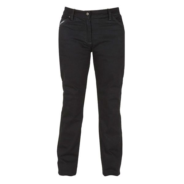 Furygan Stretch DH Ladies Jeans - Black