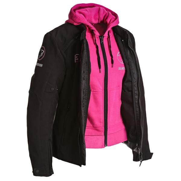 Bering Jaap Softshell Jacket Ladies- Black/Pink