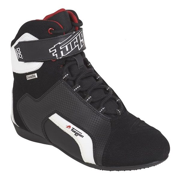 Furygan Jet D30 Sympatex Boot - Black/White