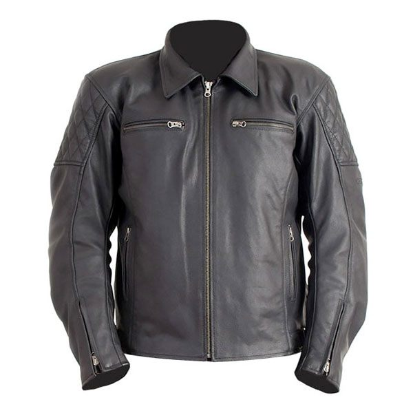 RST Cruz - Leather Jacket (Black)
