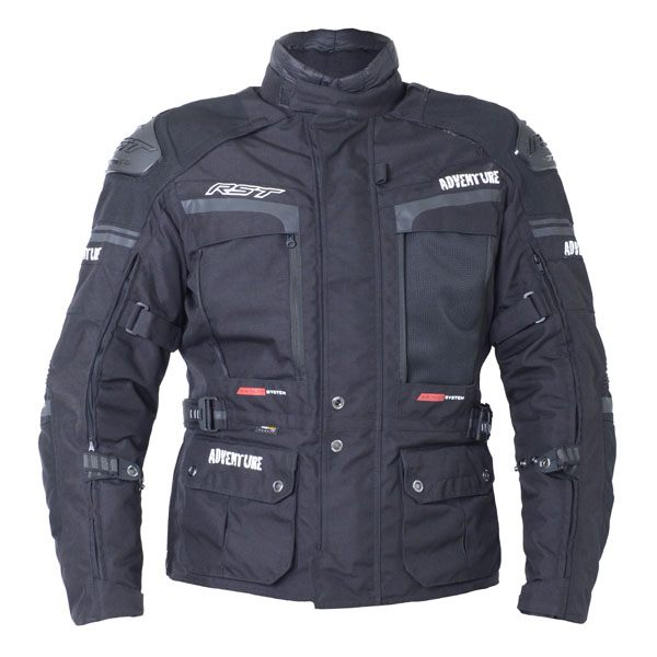 RST Pro Series Adventure 3 CE Jacket - Black