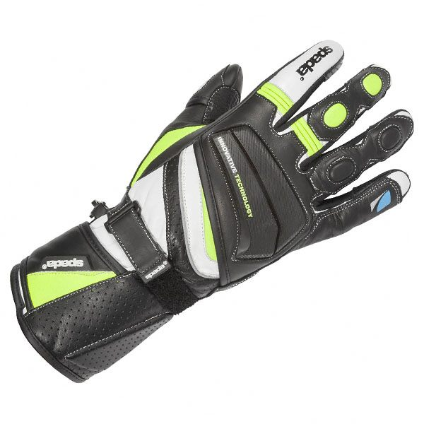 Spada Latour - Summer Gloves Black/Fluo