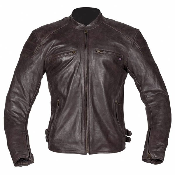 Spada Hedonista Antique Leather Jacket - Brown