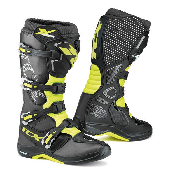TCX X-Helium Michelin Boots - Black/Yellow/Fluorescent