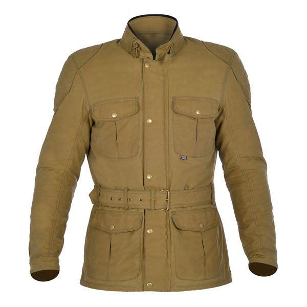 Oxford Bradwell Wax Jacket Mens - Desert Sand