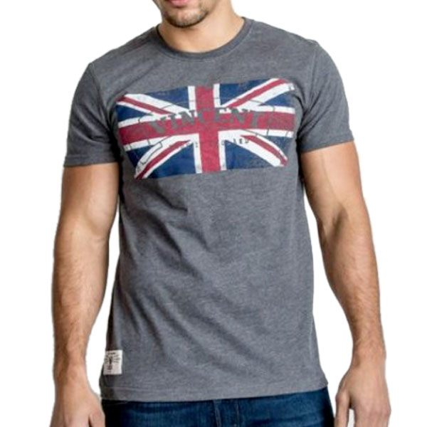 Red Torpedo Vincent Blighty T-Shirt - Grey
