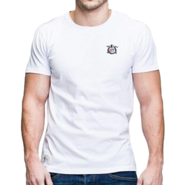 Red Torpedo RT Crest T-Shirt - White