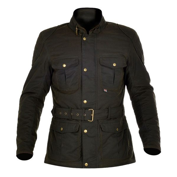 Oxford Bradwell Wax Jacket Green