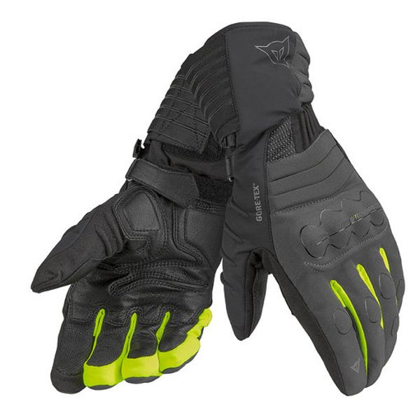 Dainese Scout Evo Gore-Tex Gloves - Black/Yellow