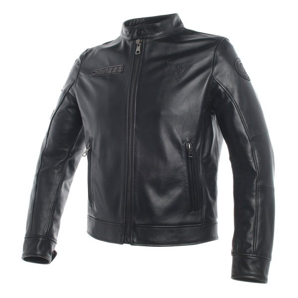 Dainese Legacy Leather Jacket - Black